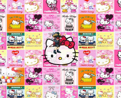 pics of hello kitty characters