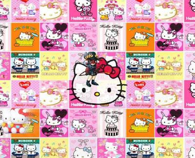 pics of hello kitty characters